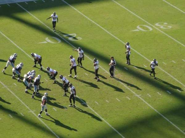 Bank of America Stadium, secção: 520, fila: 28, lugar: 21