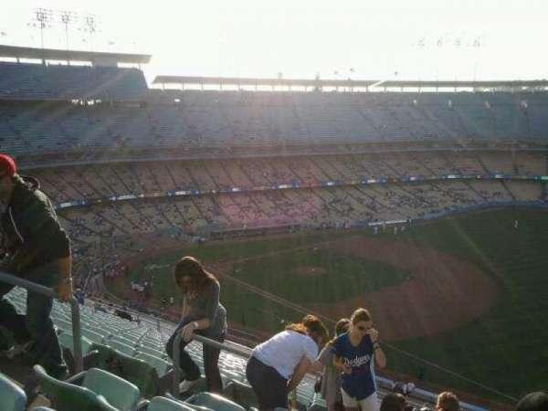 Dodger Stadium, secção: 36RS, fila: t, lugar: 6
