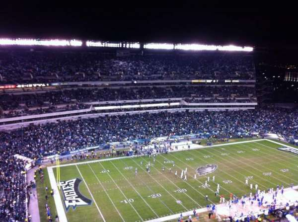 Lincoln Financial Field, secção: 221, fila: 19, lugar: 21