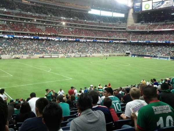 NRG Stadium, secção: 131, fila: AA, lugar: 21
