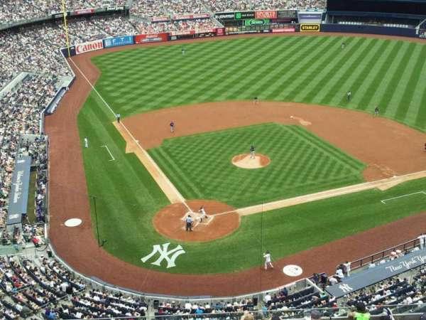 Yankee Stadium, secção: 419, fila: 1, lugar: 15