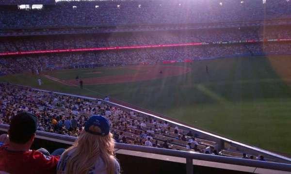 Dodger Stadium, secção: 162LG, fila: C, lugar: 1