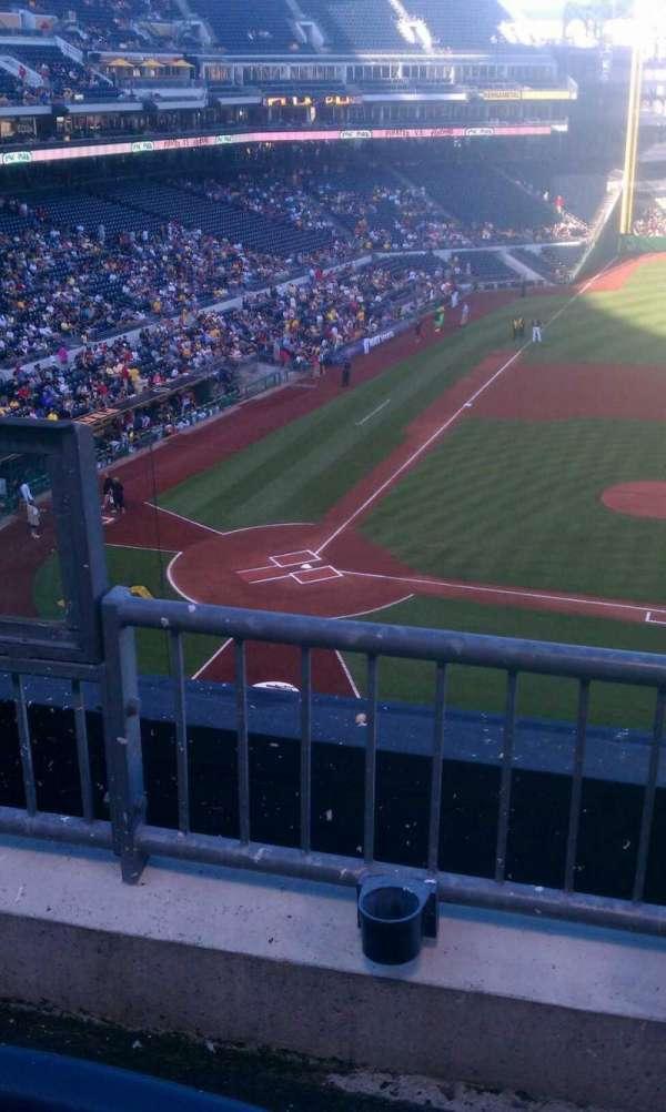 PNC Park, secção: 210, fila: b, lugar: 19
