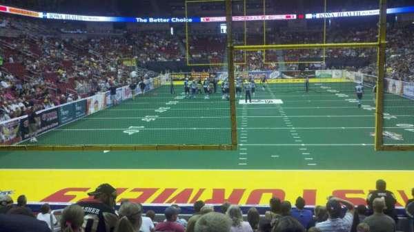 Wells Fargo Arena, secção: 110, fila: l, lugar: 10