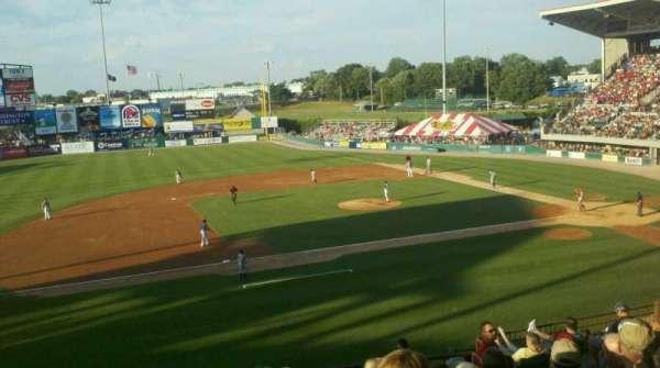 McCoy Stadium, secção: 12, fila: II, lugar: 7