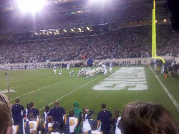 Spartan Stadium, secção: 5, fila: 2, lugar: 5