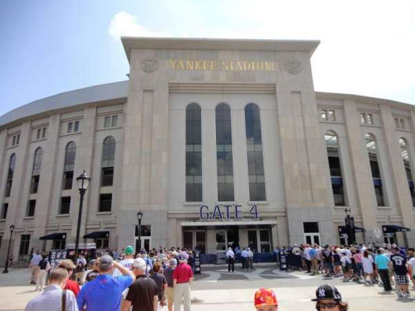 Yankee Stadium, secção: Gate 4