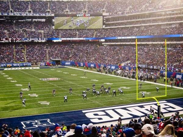 MetLife Stadium, secção: 104, fila: 34