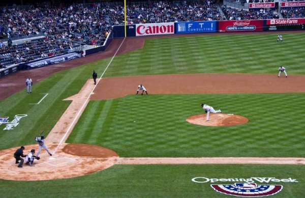 Yankee Stadium, secção: 217, fila: 10, lugar: 9