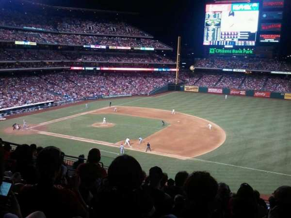Citizens Bank Park, secção: 212, fila: 9, lugar: 16