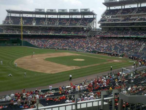 Nationals Park, secção: 205, fila: C, lugar: 4