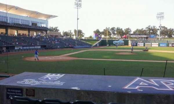 Arvest Ballpark, secção: 107, fila: i, lugar: 10