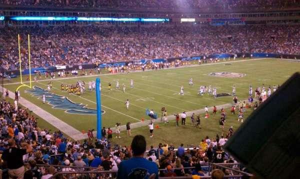 Bank of America Stadium, secção: 350, fila: 12, lugar: 13