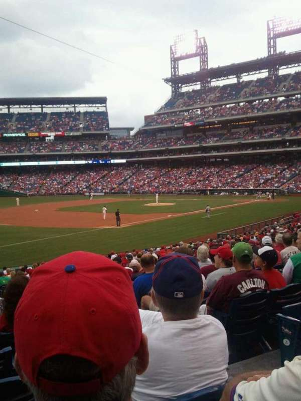 Citizens Bank Park, secção: 136, fila: 28, lugar: 3