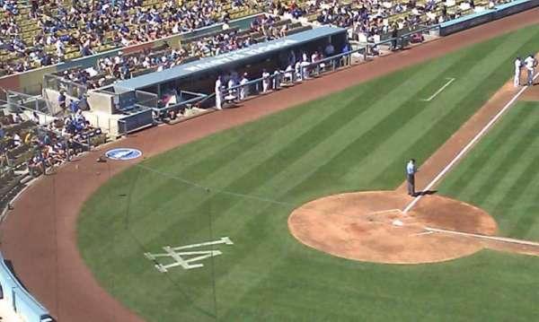 Dodger Stadium, secção: 16RS, fila: D, lugar: 10