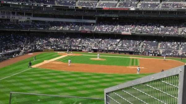 Yankee Stadium, secção: 205, fila: 4, lugar: 5