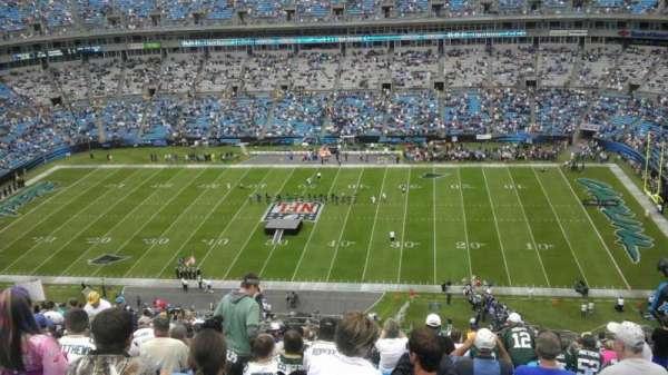 Bank of America Stadium, secção: 513, fila: 25, lugar: 10