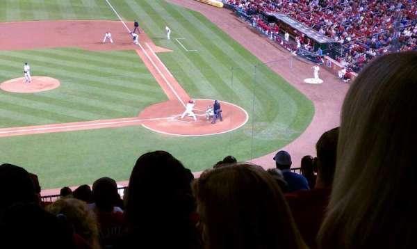 Busch Stadium, secção: 255, fila: 12, lugar: 10