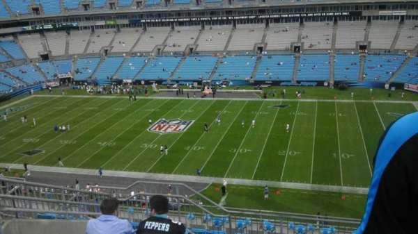 Bank of America Stadium, secção: 539, fila: 7, lugar: 14