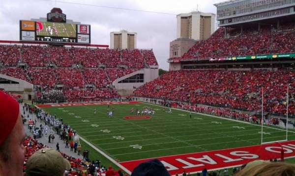 Ohio Stadium, secção: 8A, fila: 30, lugar: 17