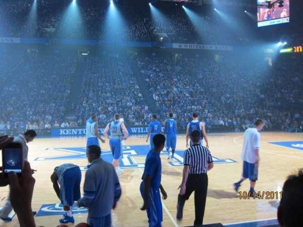 Rupp Arena, secção: 31, fila: BB, lugar: 2