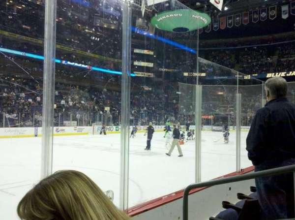 Nationwide Arena, secção: 106, fila: C, lugar: 3