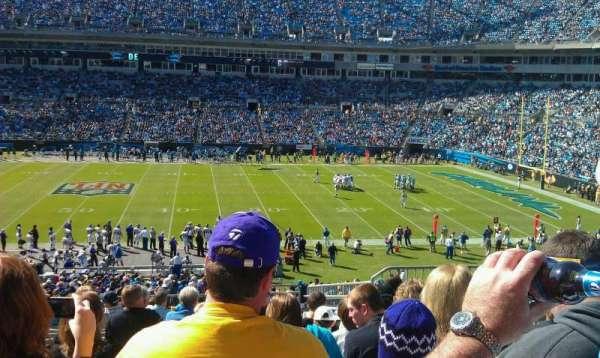 Bank of America Stadium, secção: 314, fila: 14, lugar: 5