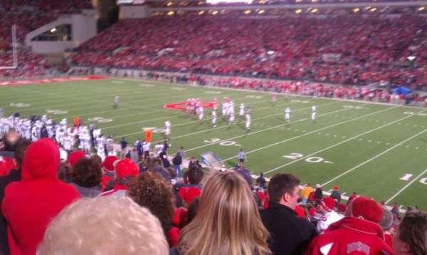 Ohio Stadium, secção: 16a, fila: 16, lugar: 2