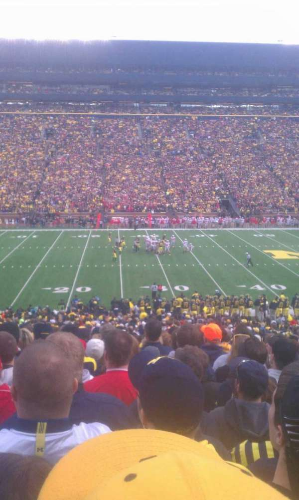 Spartan Stadium, secção: 25, fila: 49, lugar: 16
