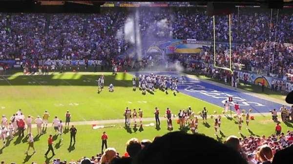 San Diego Stadium, secção: P39, fila: 24, lugar: 7