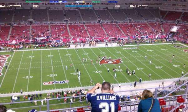 Raymond James Stadium, secção: 333, fila: E, lugar: 16