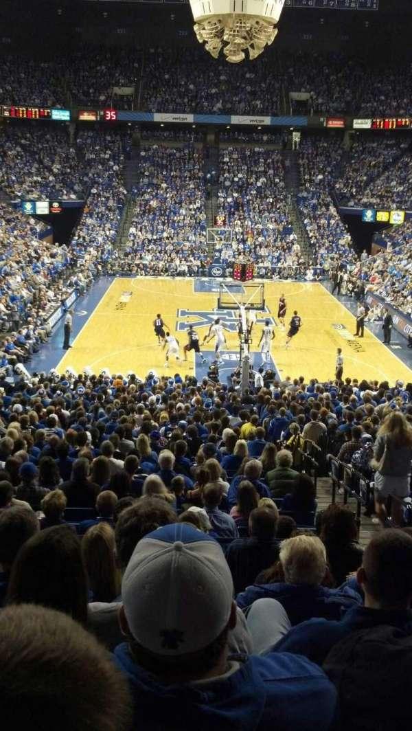 Rupp Arena, secção: 40, fila: R, lugar: 4