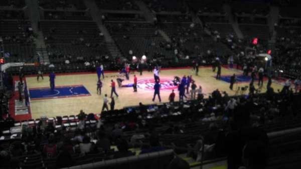The Palace of Auburn Hills, secção: 115, fila: K, lugar: 05