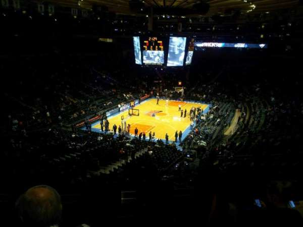 Madison Square Garden, secção: 318, fila: 5, lugar: 11