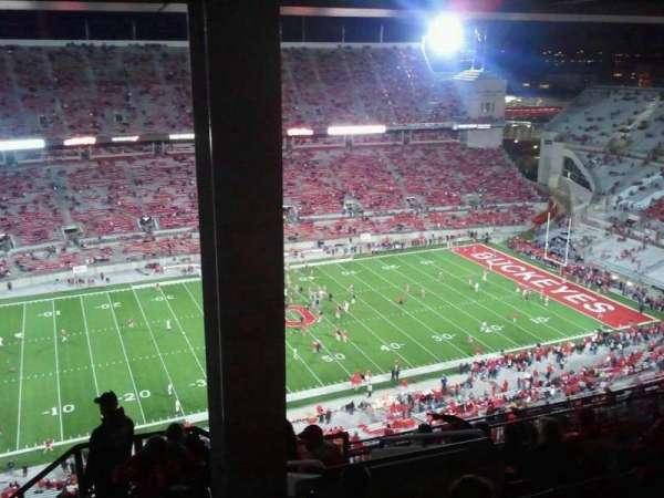Ohio Stadium, secção: 17d, fila: 11, lugar: 23