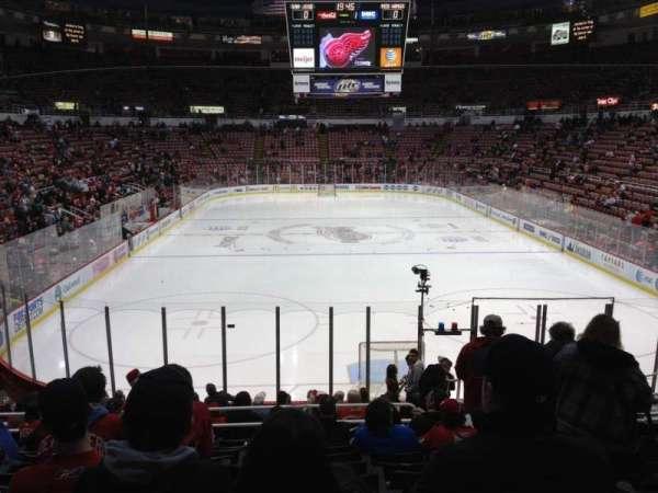 Joe Louis Arena, secção: 115, fila: 17, lugar: 3