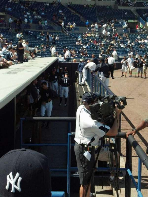 Yankee Stadium, secção: 014b, fila: Aa, lugar: 15