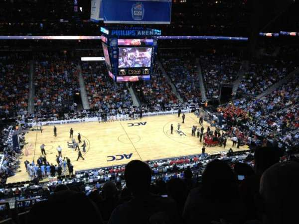 State Farm Arena, secção: 223, fila: K, lugar: 20