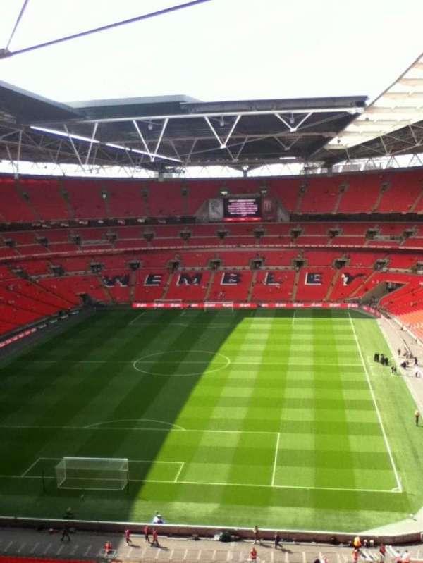 Wembley Stadium, secção: 512, fila: 18, lugar: 342
