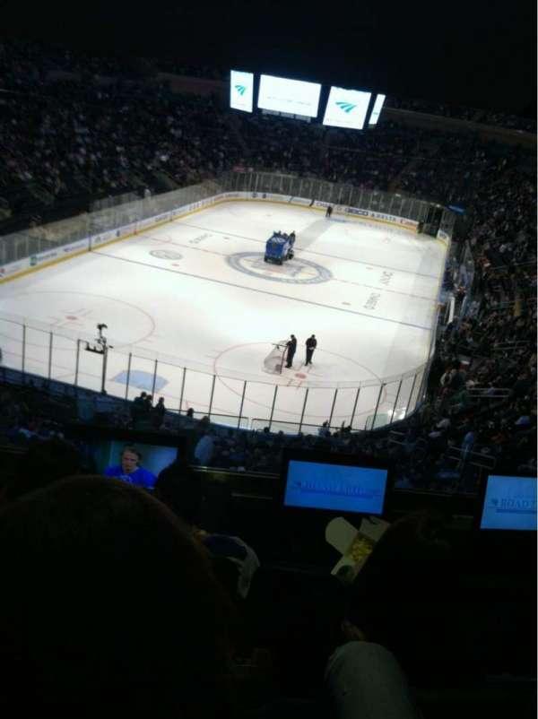 Madison Square Garden, secção: 344, fila: Bar Stool, lugar: 2