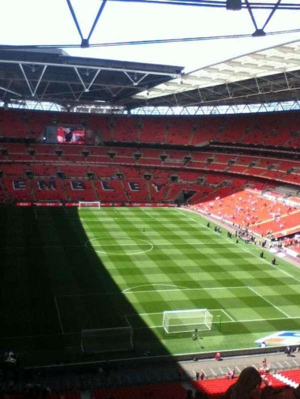 Wembley Stadium, secção: 515, fila: 18, lugar: 58