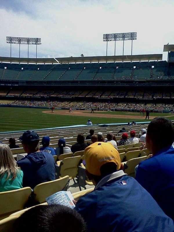 Dodger Stadium, secção: 45fd, fila: g, lugar: 2