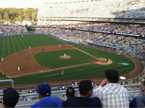 Dodger Stadium, secção: 17RS, fila: D, lugar: 21