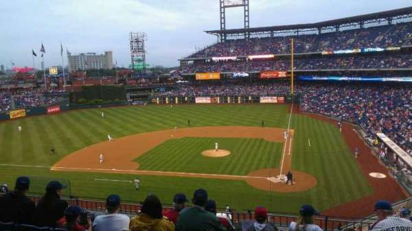 Citizens Bank Park, secção: 226, fila: 6, lugar: 3