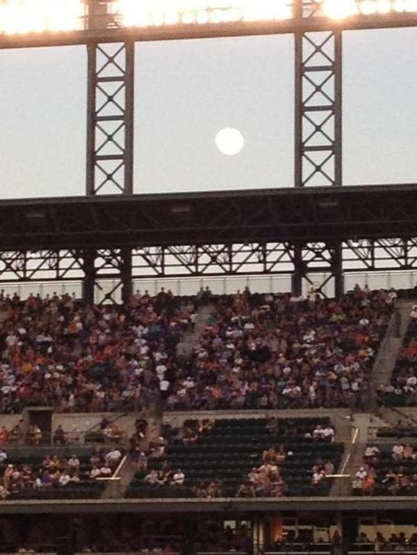 Coors Field, secção: 245, fila: 1, lugar: 12