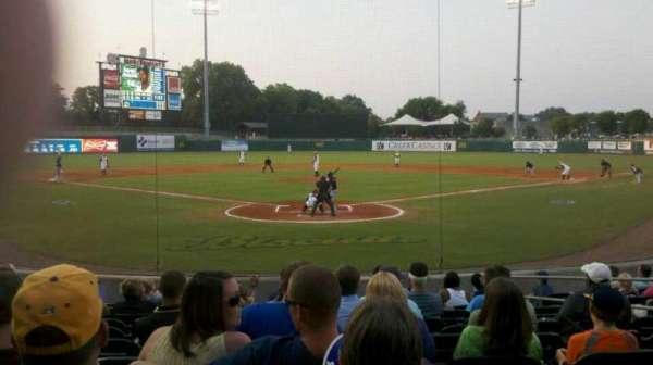 Montgomery Riverwalk Stadium, secção: 111, fila: 12, lugar: 8
