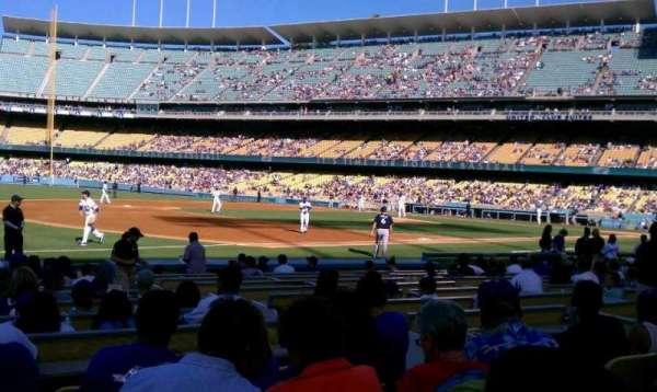 Dodger Stadium, secção: 33FD, fila: E, lugar: 5