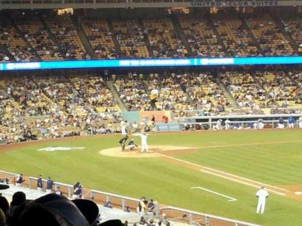 Dodger Stadium, secção: 150LG, fila: O, lugar: 1