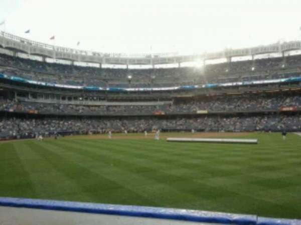 Yankee Stadium, secção: 103, fila: 10, lugar: 21