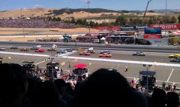 Sonoma Raceway, secção: main grandstand, fila: 39, lugar: 3